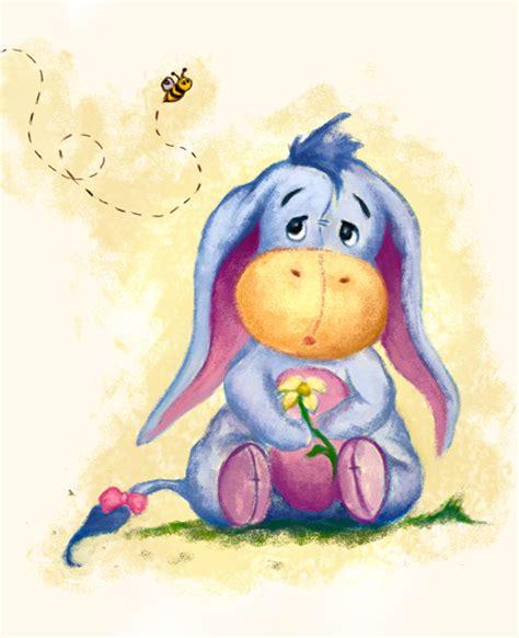 winnie the pooh baby eeyore print the of