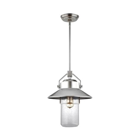 boynton fan and lighting feiss boynton 1 light painted brushed steel outdoor