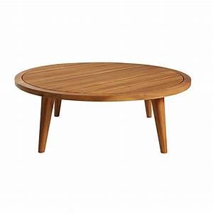 Table Jardin Acacia : table basse de jardin ronde en acacia massif noumea maisons du monde ~ Teatrodelosmanantiales.com Idées de Décoration