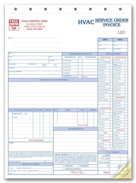 hvac invoice template hvac invoice template free to do list
