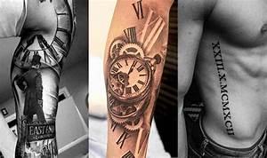 +40 Tatuajes de números romanos diferentes diseños y sus significados
