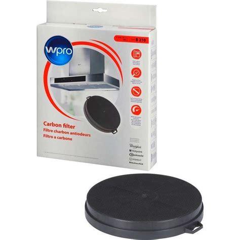 hotte de cuisine avec filtre a charbon filtre charbon type b210 hotte whirlpool 484000008579