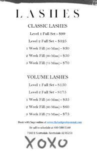 lash extension brochure downloadable template  lash