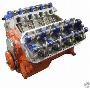 550hp 426 Hemi Long Block Complete Crate Engine