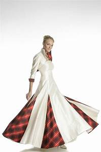 tartan spirit bridal collection the fashionbrides With scottish tartan wedding dress