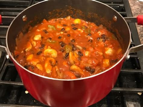 Observational studies suggested that vegetarian diets were associated with a mean concentration of total cholesterol that was lower by 29.2 milligrams per. Vegetarian Black Bean Chili | Recipe | No bean chili, Black bean chili, Low cholesterol recipes