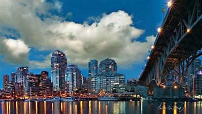 Business Vancouver Canada Island Granville Side Center