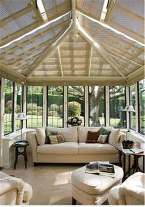 Ceiling Blinds For Sunrooms by 1000 Ideas About Sunroom Blinds On Shades