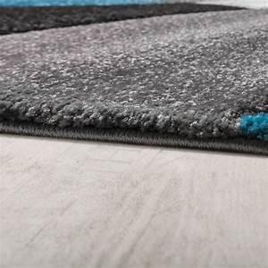 Teppich Türkis Grau : l ufer set geometrisch t rkis grau design teppiche ~ Markanthonyermac.com Haus und Dekorationen