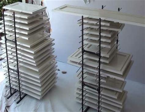cabinet door painting rack cabinet door drying rack kitchen pinterest drying