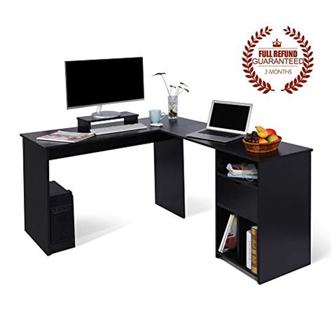 Computer Desk For Office Use by L Shaped Office Computer Desk Large Corner Pc Table With