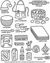 Coloring Cookies Colouring Cooking Adult Worksheets Cook Dover Publications Printable Drink Workers Recipe Making sketch template