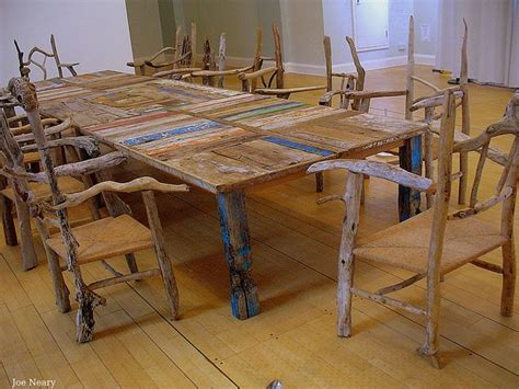 driftwood furniture furniture made with driftwood quot a table from the water s edge quot by silas birtwhistle made from