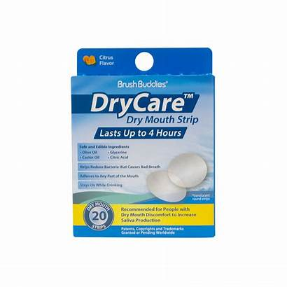 Brush Care Mouth Dry Buddies Strip Load