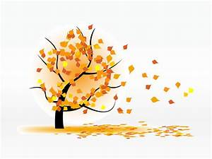 In The Wind Blowing Leaves Clipart