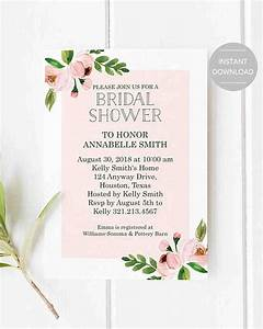 10 affordable bridal shower invitations you can print at With affordable wedding shower invitations