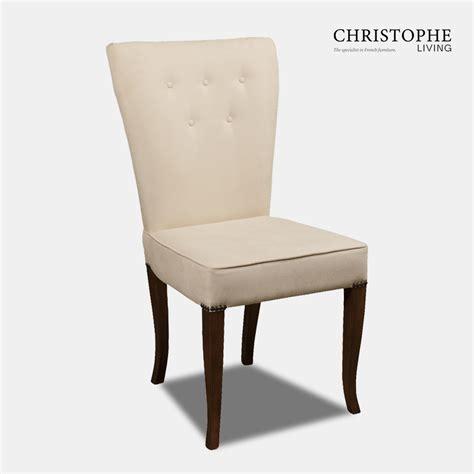 art deco dining chair fully upholstered christophe living