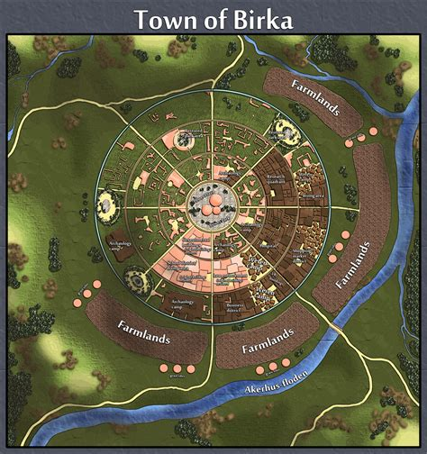 birka viking village map scandinavium   viking