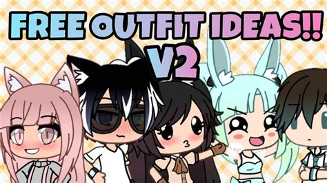 outfit ideas  aesthetic gacha life youtube