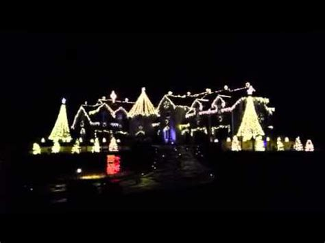 elburn il christmas light show youtube