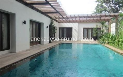 rumah minimalis  kolam renang