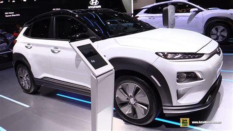 2019 Hyundai Kona Elecric  Exterior And Interior