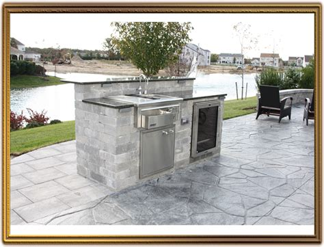 outdoor kitchen island with sink incredible outdoor kitchen island kits