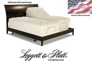 new prodigy leggett and platt adjustable bed split dual king size eastern king ebay