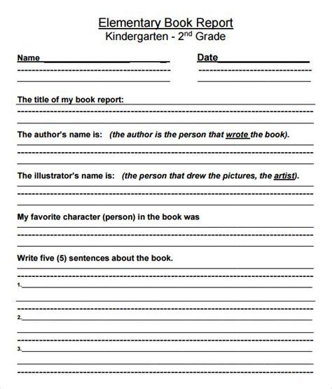 book report templates  samples examples format