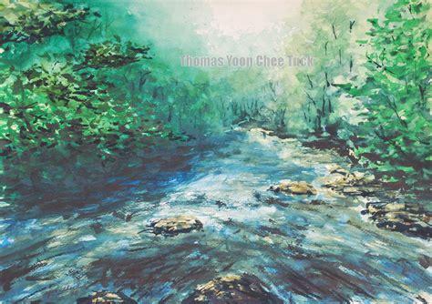 yoon chee tuck watercolor artist seascape landscape