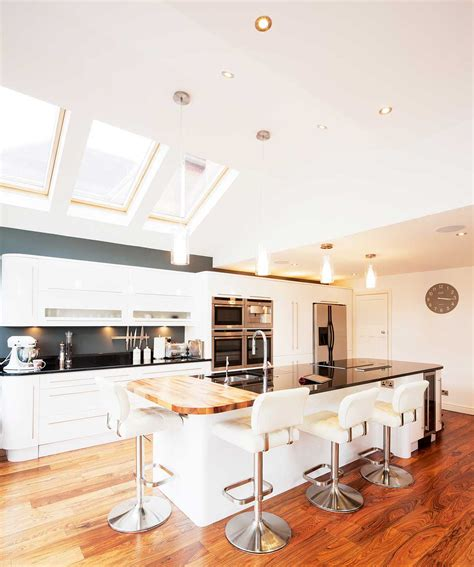 kitchens extensions designs glazed kitchen extension homebuilding renovating 3559