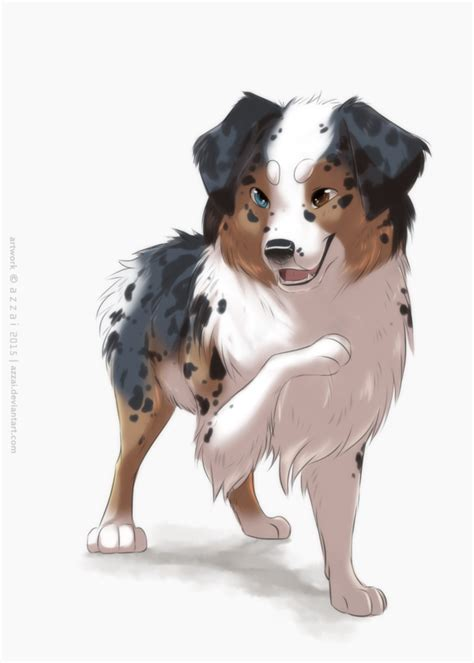 Aussie Colored Sketch By Azzai On Deviantart