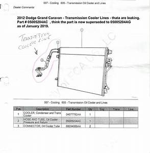 2012 Dodge Caravan Heater Hose Diagram