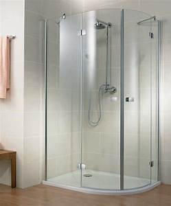 Barre De Douche Arrondie : porte de douche battante topiwall ~ Premium-room.com Idées de Décoration
