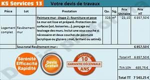 Exemple De Devis De Peinture Gratuit Sur Les Bouches Du