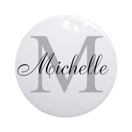initial ornaments monograms personalized monogram name ornament by hqart