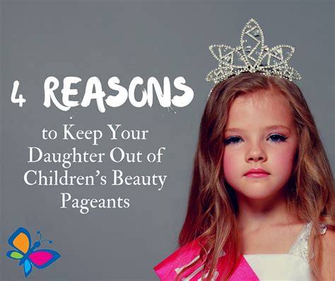 4 Reasons To Keep Your Daughter Out Of Children's Beauty Pageants