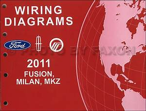 2011 Ford Fusion Mercury Milan Lincoln Mkz Wiring Diagram