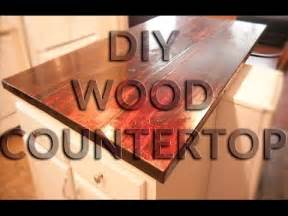 kitchen countertop ideas on a budget diy wood countertop butcher block style anyone can do