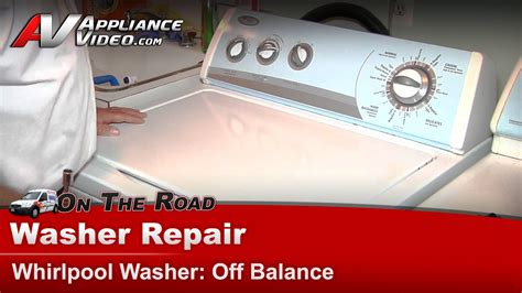 whirlpool wtwsq washer repair  balance tub