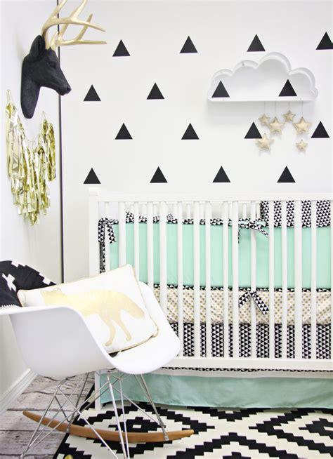 a modern mint nursery project nursery