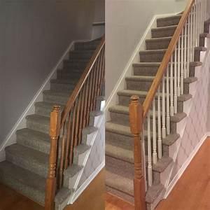 1000 idees sur le theme rampes d39escalier peintes sur With peindre des marches d escalier en bois 0 escalier bois et blanc idees pour lentree et le couloir