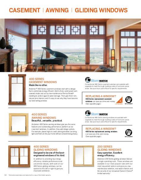 andersen brochure   architectural series window door