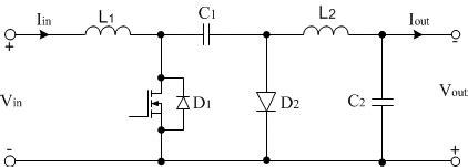 Simple Circuit Diagram The Cuk Converter Designed