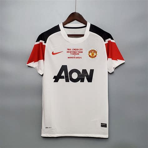 Great manchester united champions league goals. Manchester United 2011 Away UCL Final Football Shirt