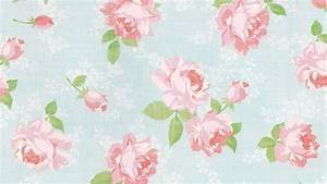 Pink Vintage Floral Wallpapers Desktop Wallpapers High