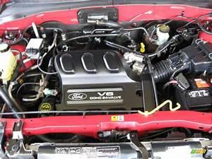 2002 Ford Escape Xls V6 3 0 Liter Dohc 24