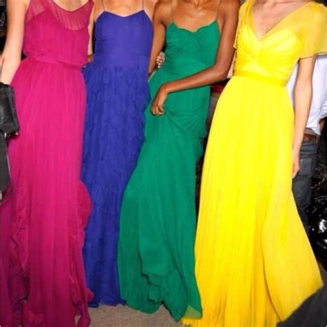 bright colored dresses 1000 ideas about bright bridesmaid dresses on