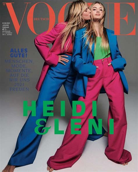 Mar 23, 2021 · who is leni klum? Leni Klum Lands Her First Magazine Cover With Mom Heidi ...