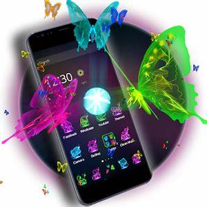3D Neon Butterfly Theme Android Apps on Google Play